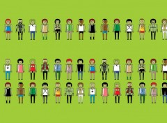 Fonds d'écran Art - Numérique gay play mobil