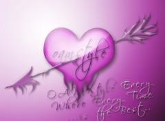 Fonds d'écran Art - Numérique love you OAMSTYLE