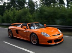 Wallpapers Cars Porsche Carrera GT TechArt