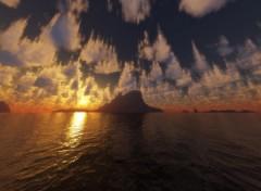 Fonds d'écran Art - Numérique Falling Sky
