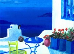 Wallpapers Art - Painting Grece