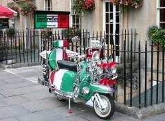 Wallpapers Motorbikes Non, pas en Italie mais à Bath Angleterre
