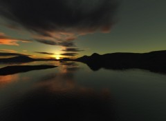 Fonds d'écran Art - Numérique sunset03