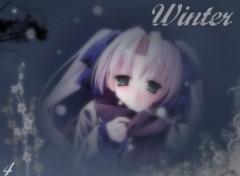 Fonds d'écran Manga Winter