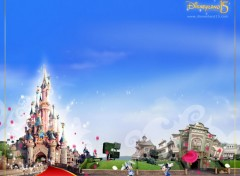 Fonds d'écran Constructions et architecture DisneyLand Paris 15 Ans