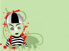 Fonds d'écran Art - Numérique Living Dead Dolls-Ezekiel