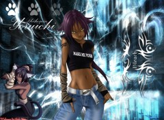 Wallpapers Manga Tribal Yoruichi