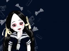 Fonds d'écran Art - Numérique Living Dead Dolls-Maggot