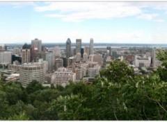 Fonds d'écran Voyages : Amérique du nord Montréal depuis son Belvédère
