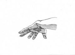Fonds d'écran Art - Crayon main