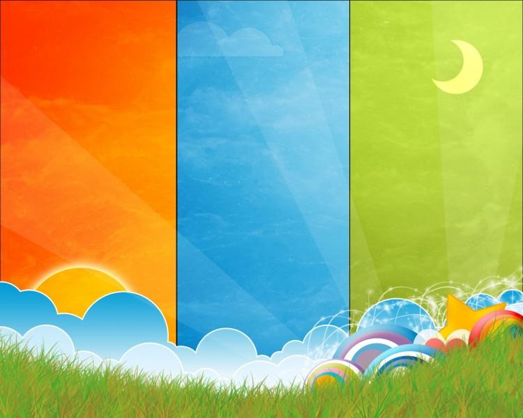 Fonds d'écran Art - Numérique Style Zen Fresh Color
