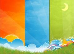 Fonds d'écran Art - Numérique Fresh Color