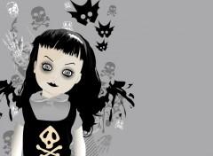 Fonds d'écran Art - Numérique Living Dead Dolls-Mildread