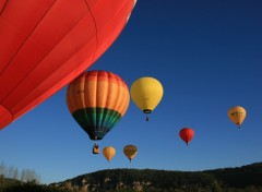 Fonds d'écran Avions Montgolfières en Périgord