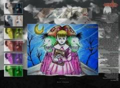 Fonds d'écran Manga Le monstre sans nom...