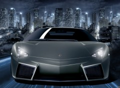 Wallpapers Cars Reventon by night
