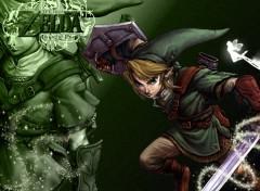 Fonds d'écran Jeux Vidéo Zelda Green