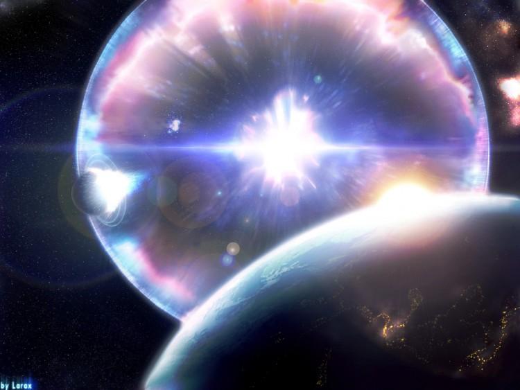 Fonds d'écran Espace Etoiles - Nébuleuses super nova