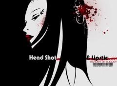 Wallpapers Manga Head shot & Lipstick