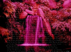 Wallpapers Digital Art poème d'une cascade