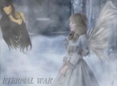 Fonds d'écran Célébrités Femme Eternal War