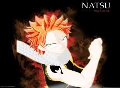 Fonds d'écran Manga Fairy Tail - Natsu
