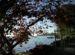Fonds d'écran Voyages : Europe Montreux : les berges du Lac Léman