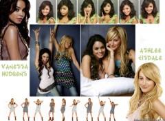 Wallpapers Movies Vanessa Hudgens & Ashlee Tisdale