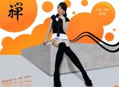 Fonds d'écran Célébrités Femme Innocente Asian Girl