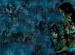Fonds d'écran Fantasy et Science Fiction rêve bleu