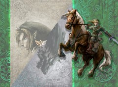 Wallpapers Video Games Link à cheval