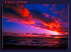 Wallpapers Nature coucher de soleil australien
