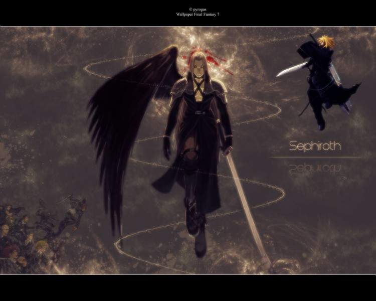 Wallpapers Video Games Final Fantasy VII Sephiroth