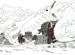 Wallpapers Art - Pencil Tobi et Deidara