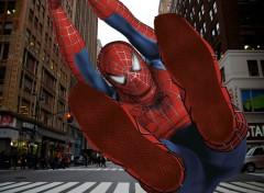 Wallpapers Movies Spiderman en ville