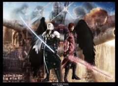 Wallpapers Video Games Genesis and Sephiroth