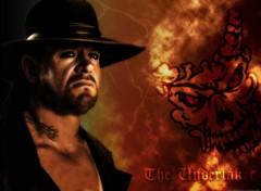 Fonds d'écran Sports - Loisirs The Undertaker 'red thunder'