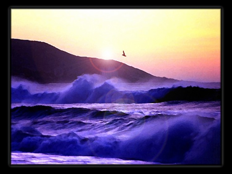 Fonds d'écran Nature Mers - Océans - Plages MALIBU BEACH