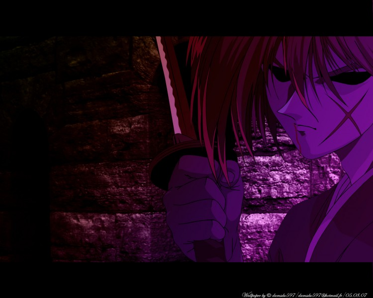 Fonds d'écran Manga Kenshin, le Vagabond The shade...