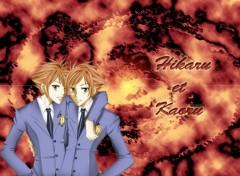 Fonds d'écran Manga Hikaru et Koaru