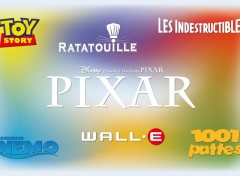 Fonds d'écran Dessins Animés Pixar collection