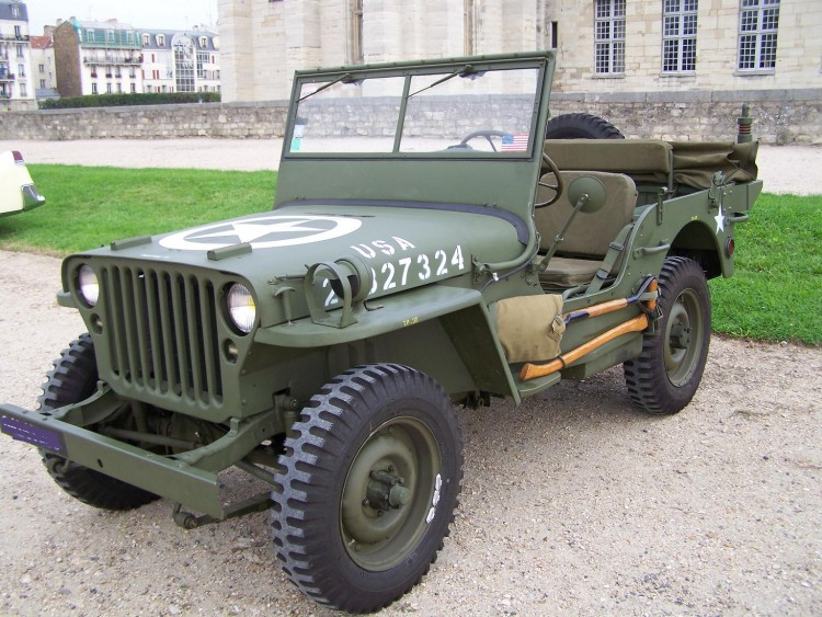 Fonds d'écran Voitures 4x4 Jeep Willys