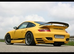Fonds d'écran Voitures Porsche 997 turbo speed art