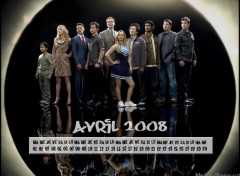Wallpapers Digital Art Calendrier Avril 2008 Heroes