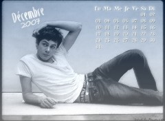 Wallpapers Digital Art Calendrier Décembre 2007 Adam Brody