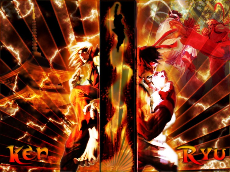 Wallpapers Video Games Street Fighter Ken et Ryu