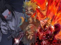 Wallpapers Manga SasuketNaruto