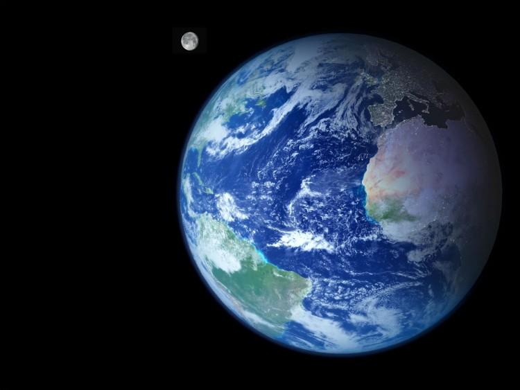 Fonds d'écran Espace Terre Wallpaper N°185806
