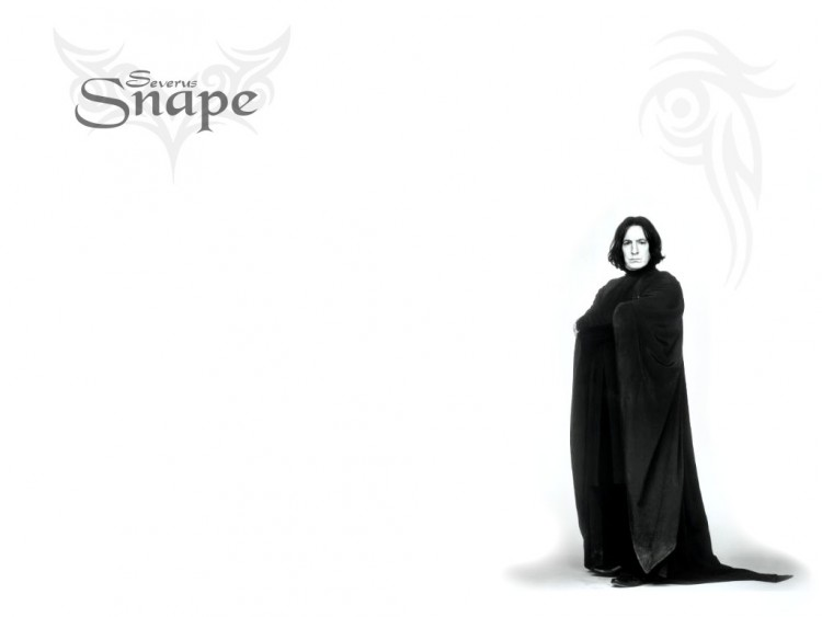 Wallpapers Movies Harry Potter Severus Snape