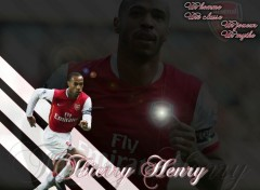 Wallpapers Sports - Leisures Thierry Henry à Arsenal
